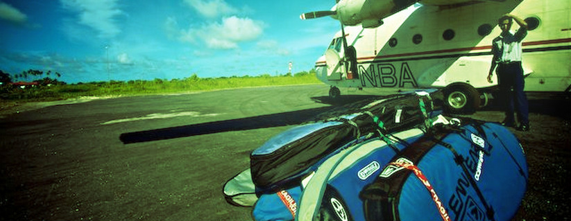 Bagageavgifter för surfbrädor på flyg 2014