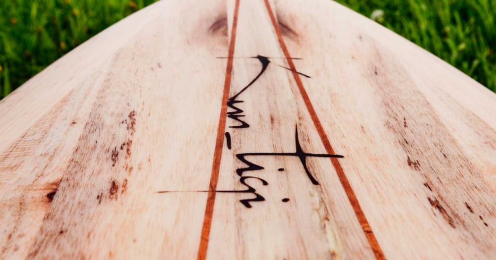 Miljövänliga surfbrädor från Kun_tiqi – Årets julklapp!