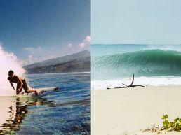 Reef break eller beach break