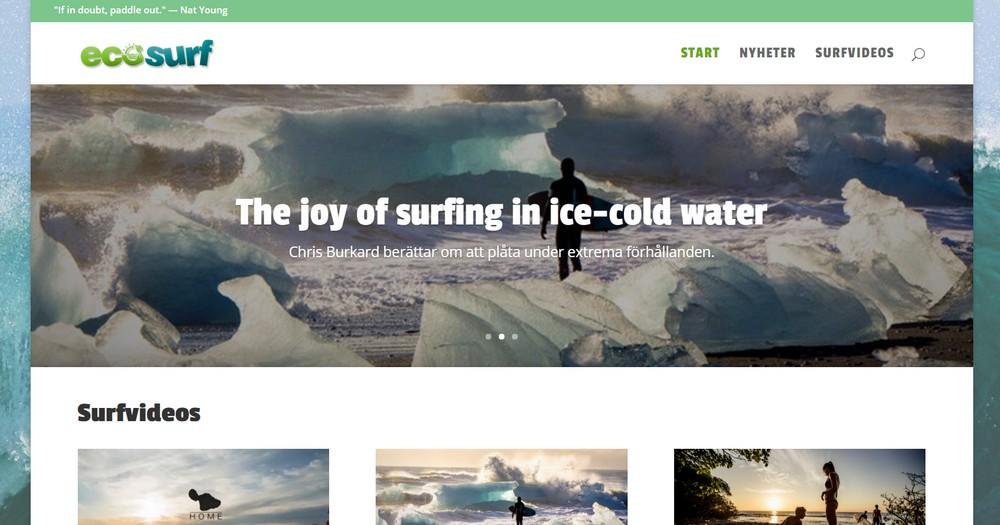 Välkommen till nya EcoSurf.se!